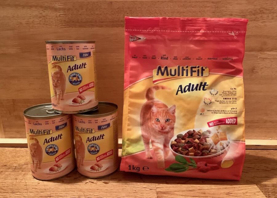 Multifit Katzen Adult Trockenfutter