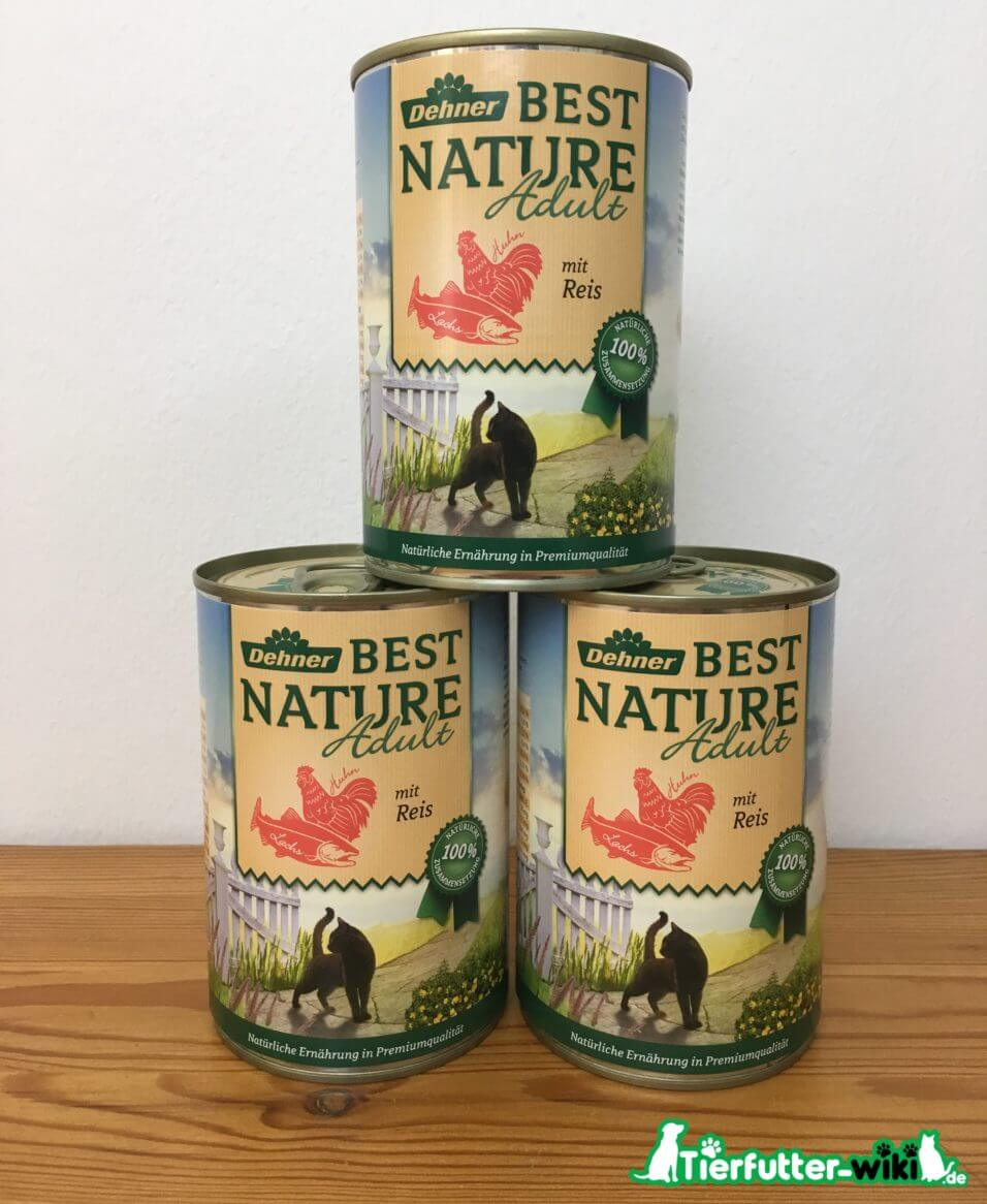 Dehner Best Nature Adult Katzen Nassfutter