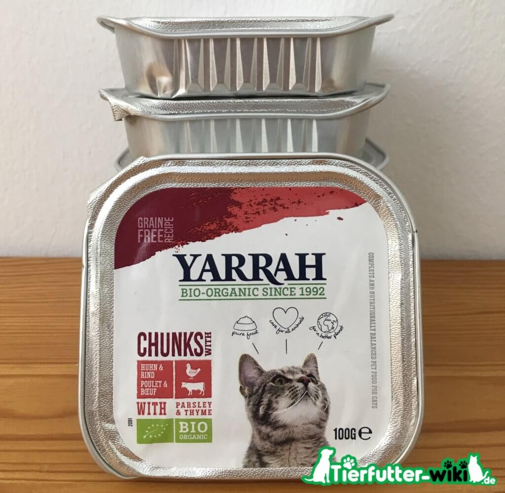 Yarrah Bio-Chunks mit Huhn und Rind