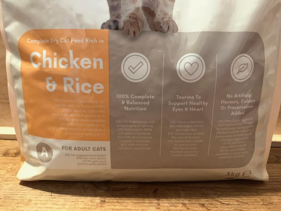 Amazon Lifelong Katzen Trockenfutter mit Chicken & Rice
