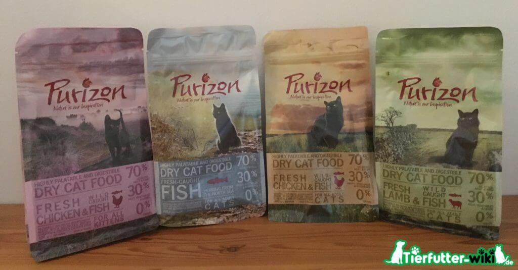 Purizon Katzenfutter Sorten
