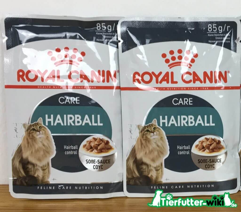 Royal Canin Hairball Nassfutter Test
