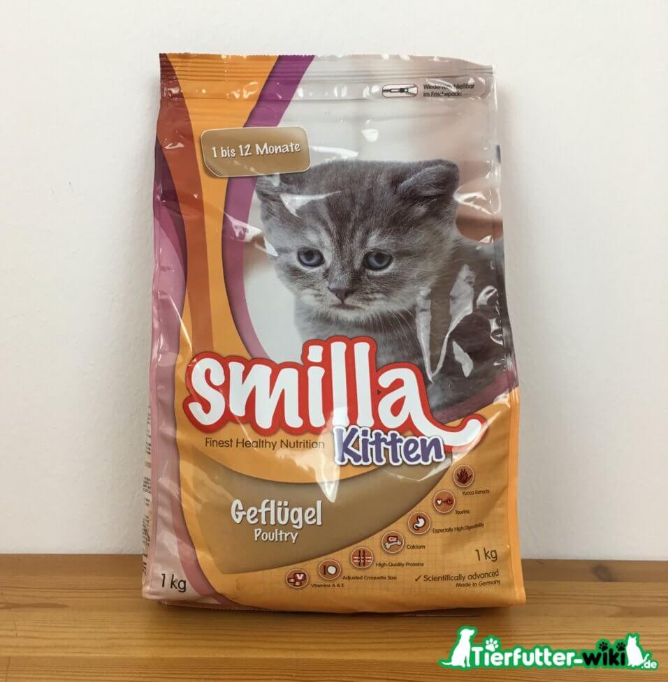 Smilla Kitten Trockenfutter mit Geflügel