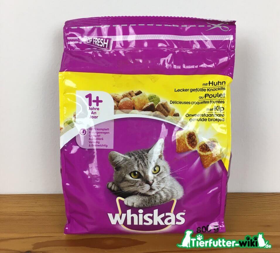 Whiskas Katzen Trockenfutter mit Huhn
