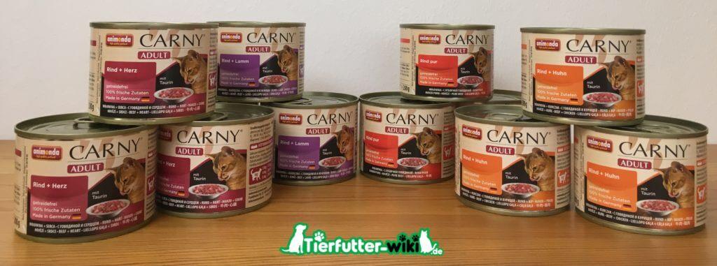 animonda carny Adult Nassfutter für Katzen