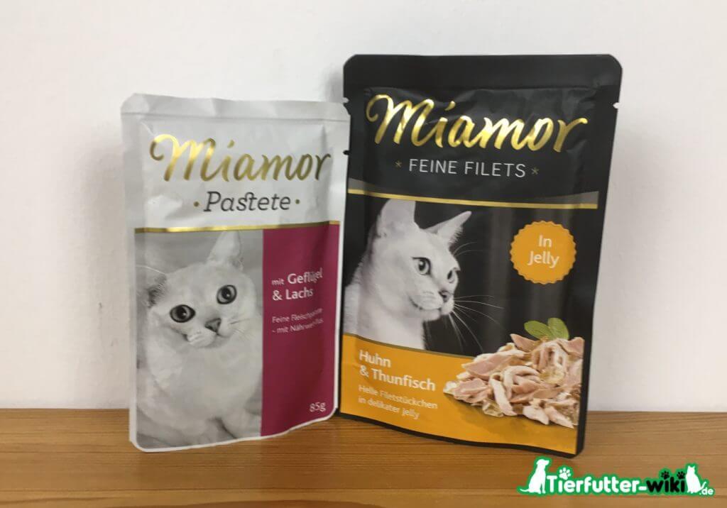 miamor Katzen Nassfutter
