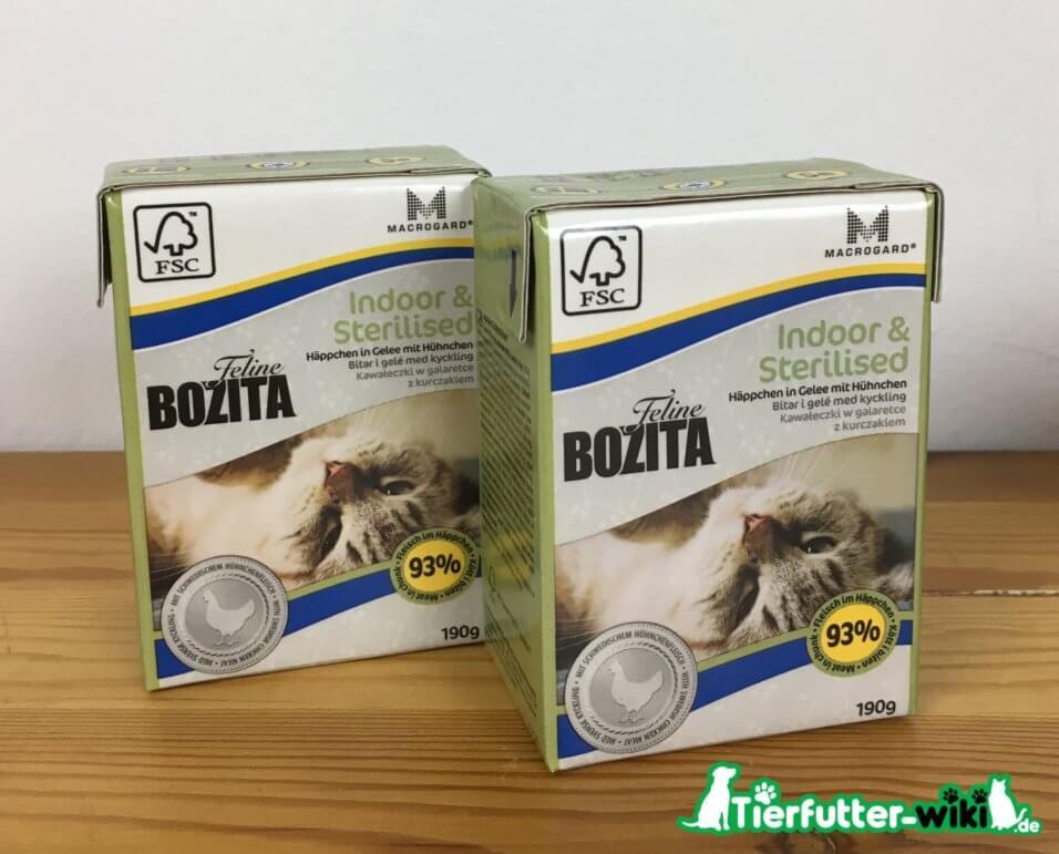 Bozita Nassfutter für Katzen