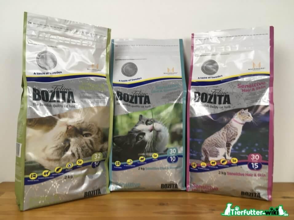 Bozita Trockenfutter Katzen