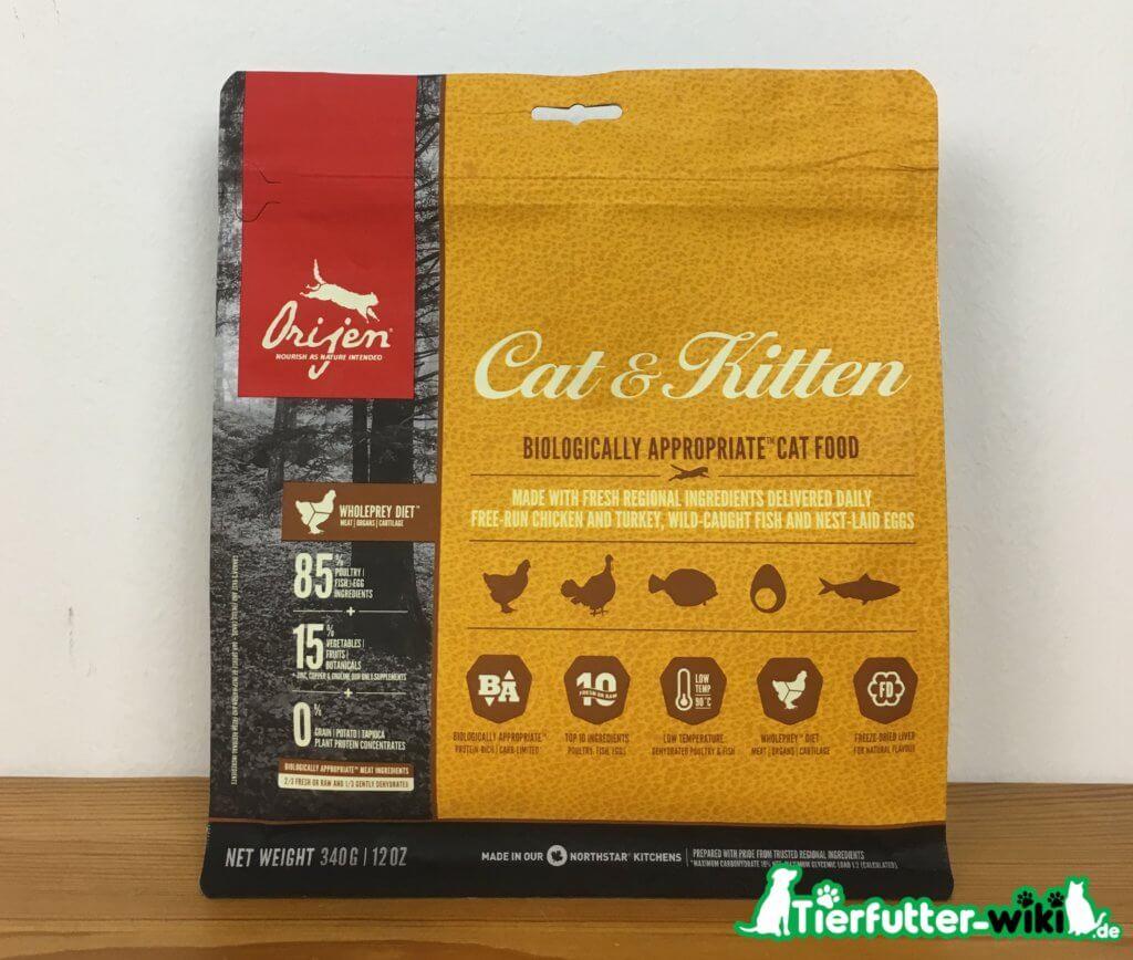 Orijen Cat & Kitten Trockenfutter