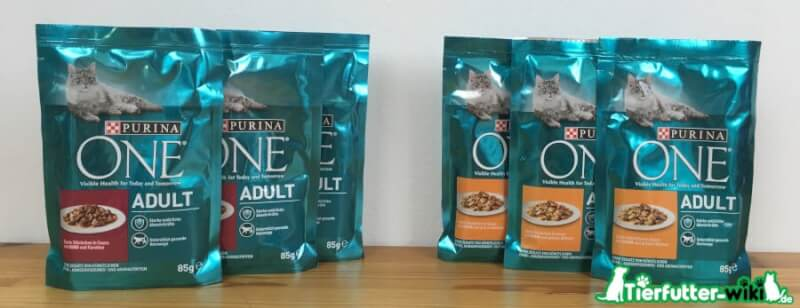 Purina ONE Adult Nassfutter Test