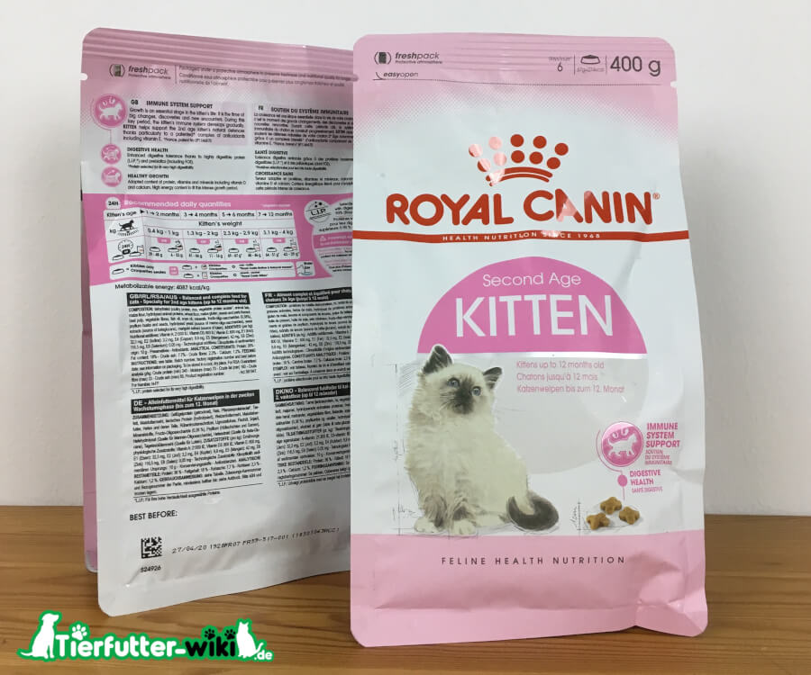 Royal Canin Kitten Second Age Trockenfutter