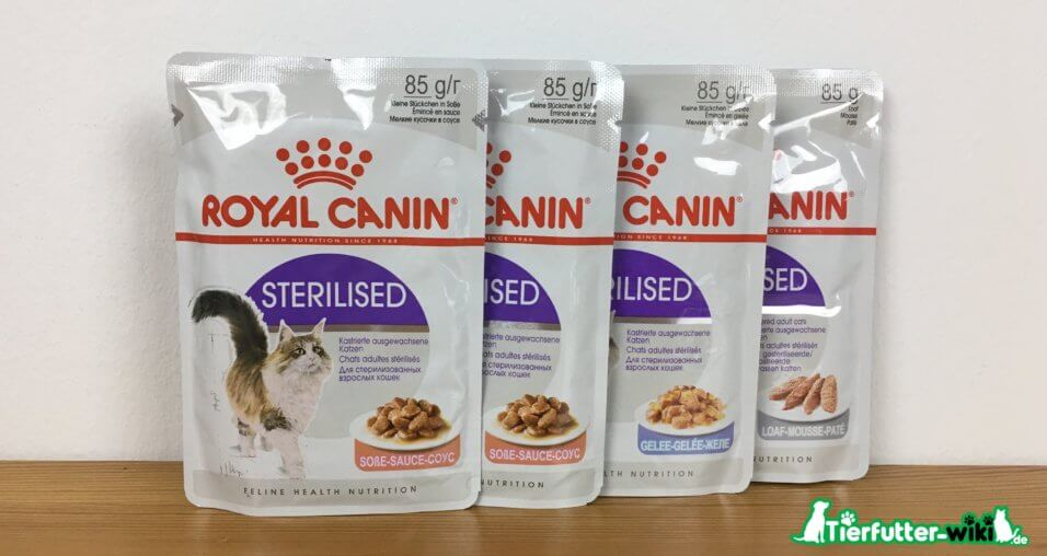 Royal Canin Sterilised Katzen Nassfutter