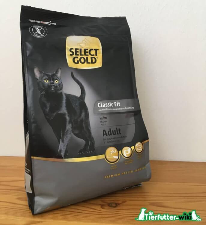 Select Gold Classic Fit Adult Trockenfutter für Katzen