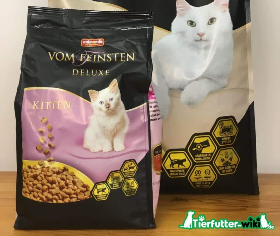animonda vom feinsten Kitten Deluxe