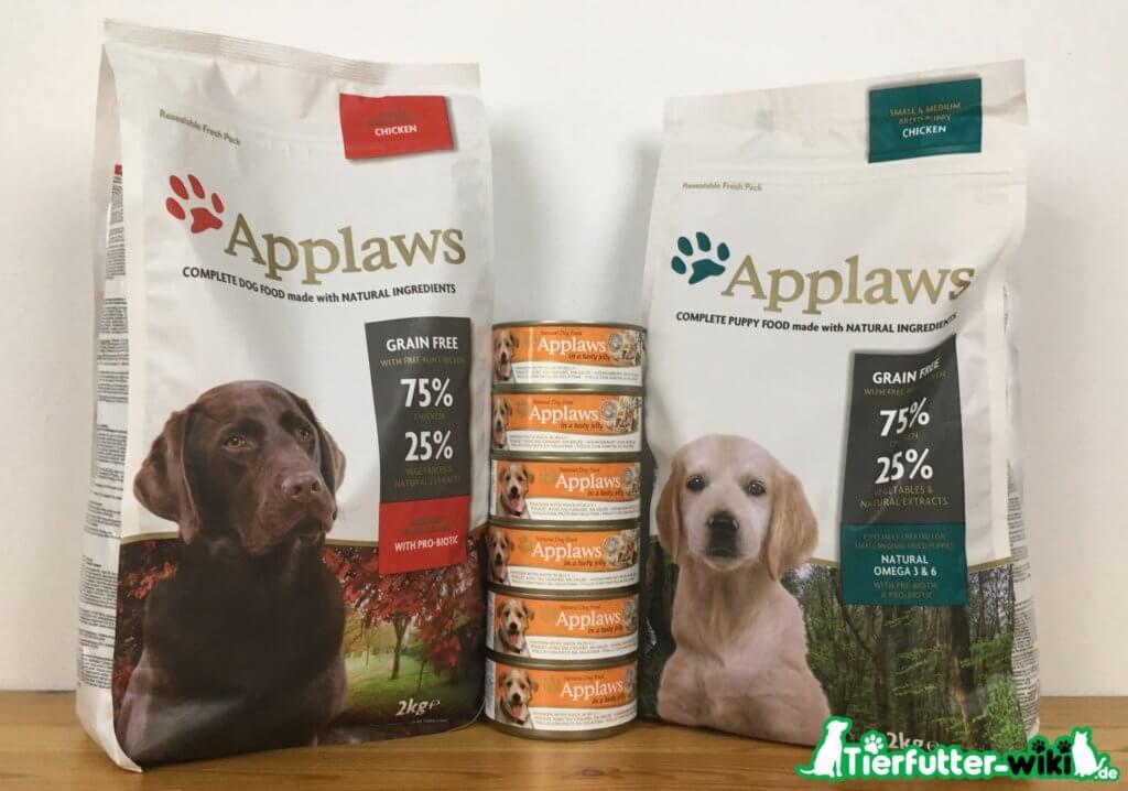 Applaws Adult und Welpenfutter im Hundefutter Test