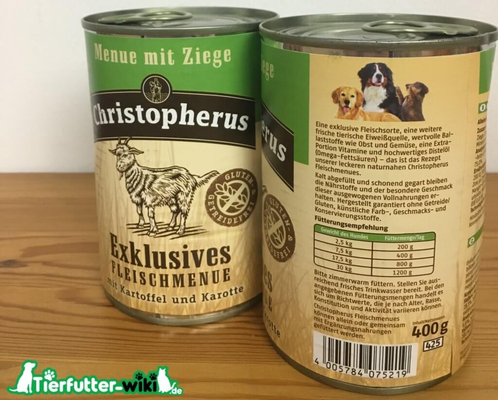 Christopherus Nassfutter für Hunde