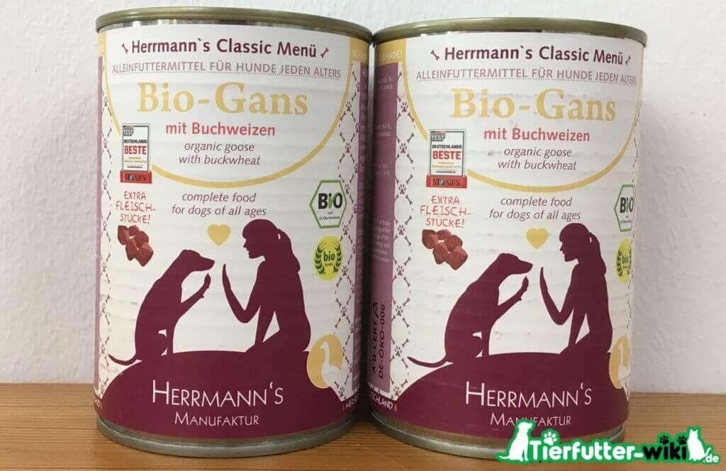 Herrmann's Bio-Hundefutter