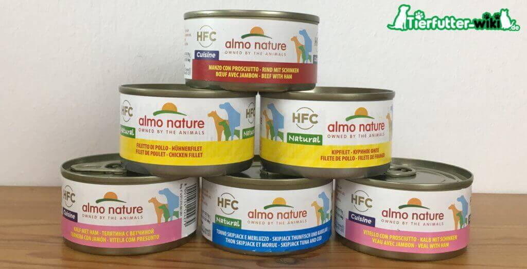 Almo Nature Hunde Nassfutter