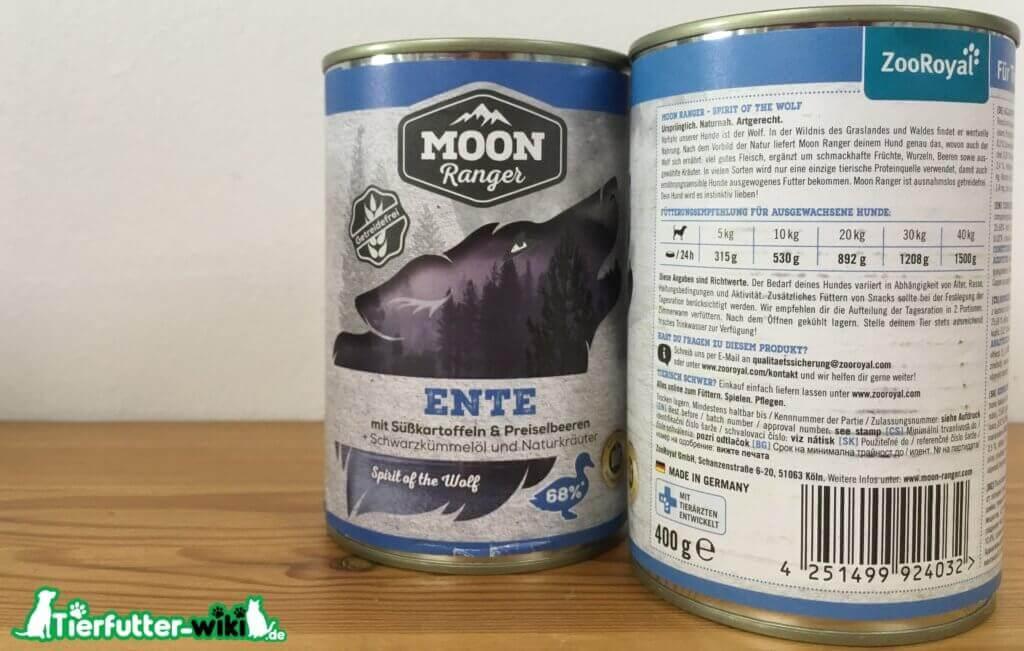Moon Ranger Nassfutter mit Ente