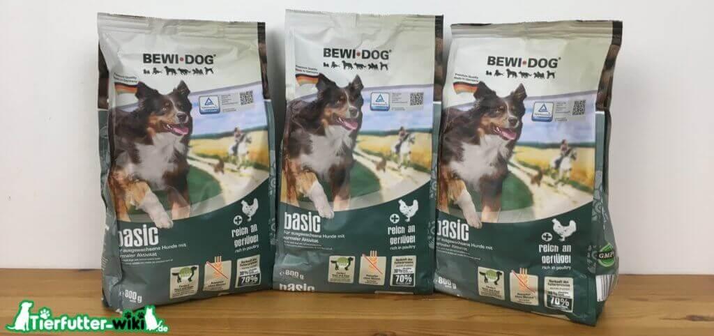 Bewi Dog Hunde Trockenfutter