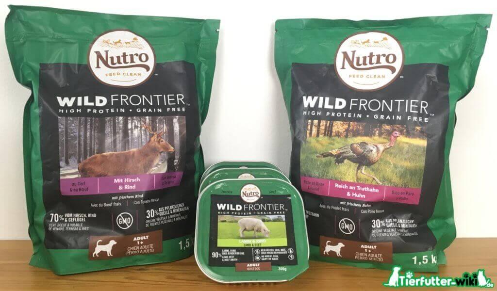 Nutro Wild Frontier Hundefutter