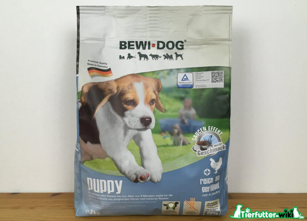 Welpenfutter Bewi Dog