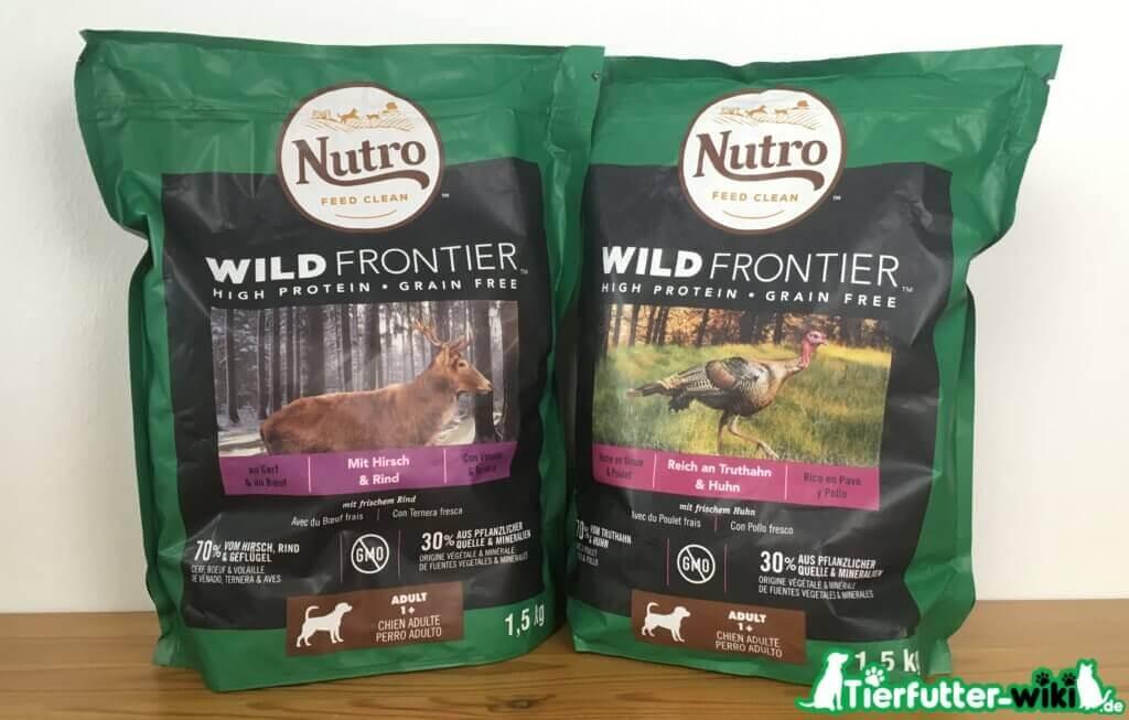 Nutro Wild Frontier Hunde Trockenfutter