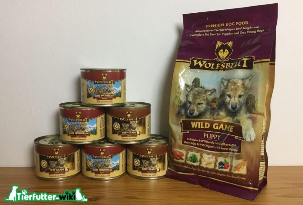 Wolfsblut Welpenfutter
