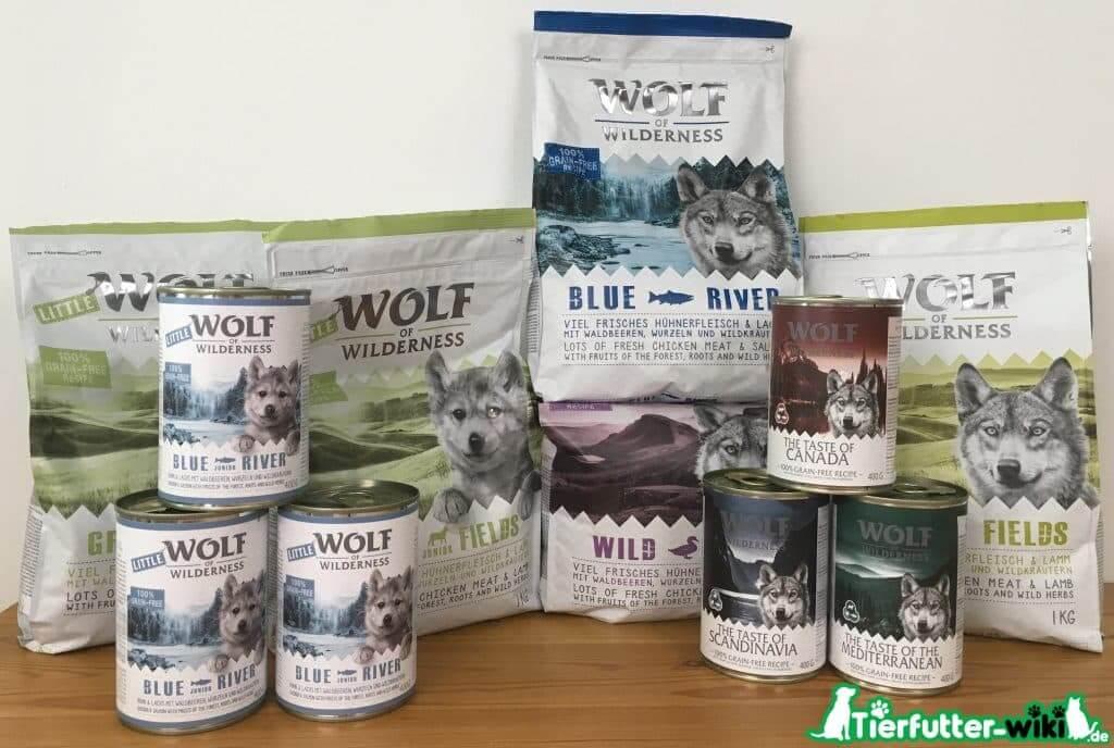 Wolf of Wilderness Hundefutter Test