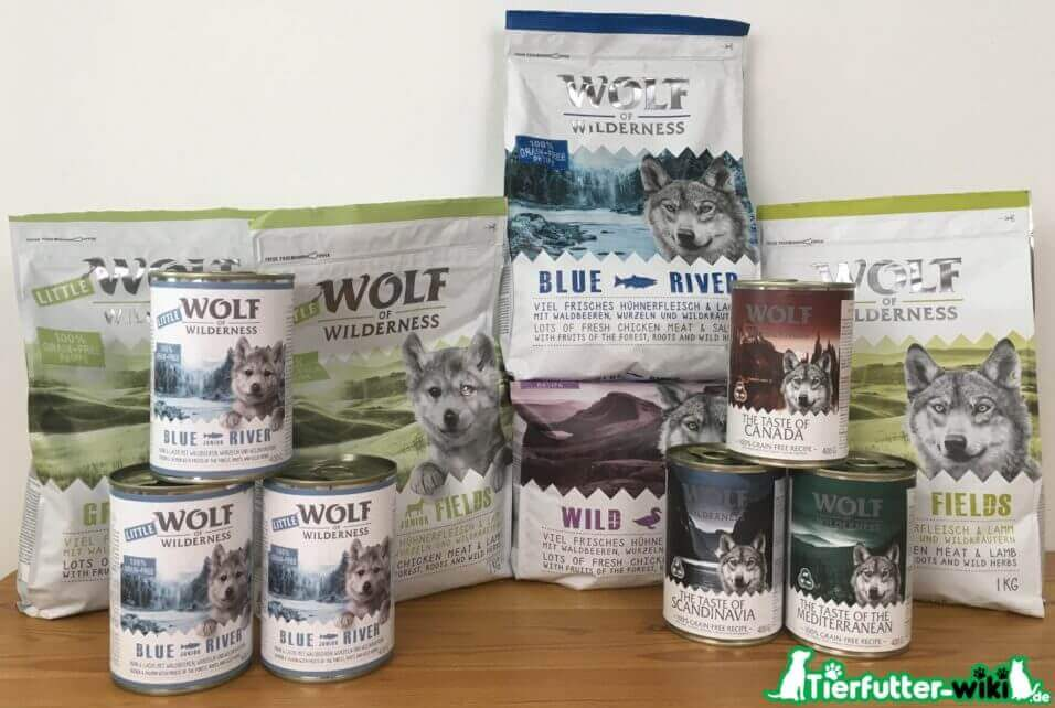Wolf of Wilderness Hundefutter Test